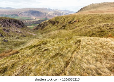 View from Hills in The Lake District