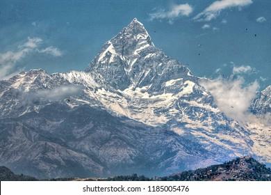 View of Himalayan mountain.