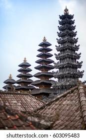 View Hindu Mother Temple of Besakih, Bali Island, Indonesia