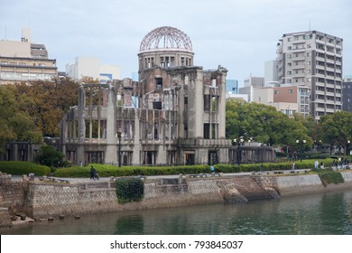 View of Hiroshima atomic dome ,Japan