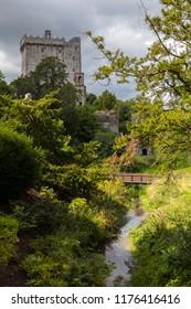 A view of the historic Blarney Castle in Blarney, Republic of Ireland.