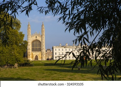 A view of the historic Kings College in Cambridge, UK.