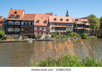 "View of the historic quarter ""Kleinvenedig"" of Bamberg in Bavaria"