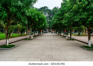 View in Ho Chi Minh hometown Vientnam