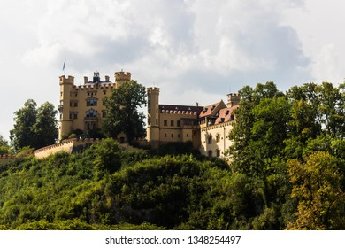 View of Hohenschwangau castle, Bayern, Germany