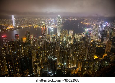 View at Hong Kong from Victoria Peak