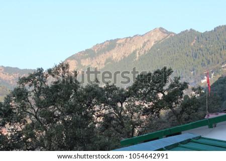 View Hotel Beside Nainital Lake Stock Photo Edit Now 1054642991