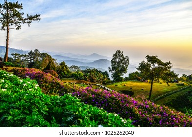 View of Huai Nam Dang National Park , Kuet Chang, Mae Taeng District, Chiang Mai