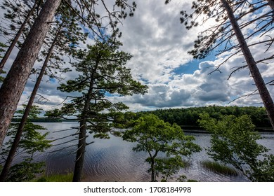 View from Hunt Island over Ponhook Lake, Nova Scotia