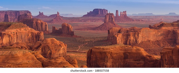 View from Hunt's Mesa, Monument Valley
