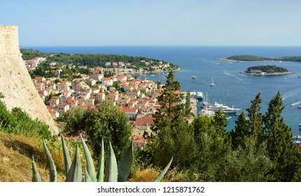 View of Hvar Town From the Fortress - Hvar, Croatia