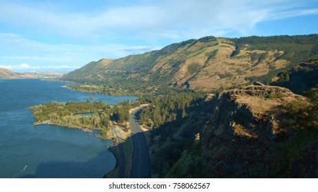 View of I84 toward The Dalles and Columbia Gorge 2 Rowena Crest Columbia River