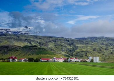view of iceland lanscape during summer