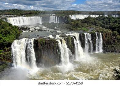 View of Iguazu Falls