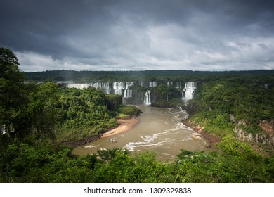 View of Iguazu Falls, Foz do Iguazu,  Brazil