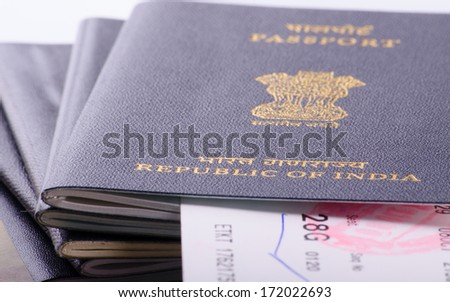 View Indian Passport Airline Boarding Pass Stock Photo Edit Now
