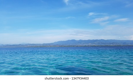 View of the Indonesian Gorontalo sea