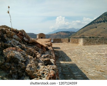 View from the inside of Porto Palermo Castle, Albania