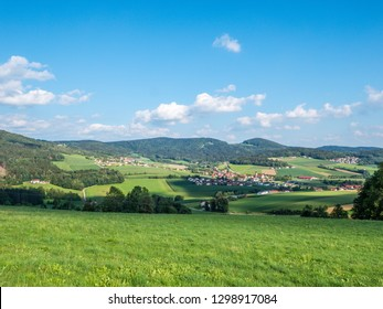 View into the Bavarian Forest