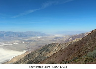 View into Deathvalley from Dante's View USA
