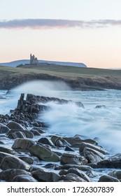 View from the Irish coast