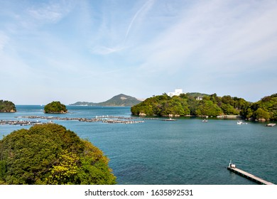 View of Ise bay in Mie prefecture, Japan