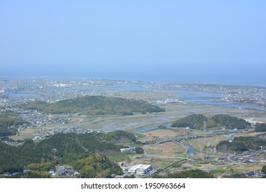 View of Ise Shima Skyline, Ise City, Mie Prefecture
