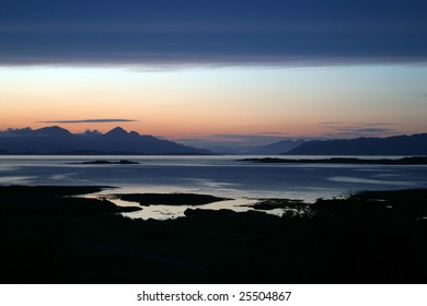 View to Isle of Skye