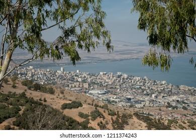 View of Israel's Tiberius