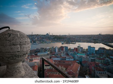 A view of the Istanbul