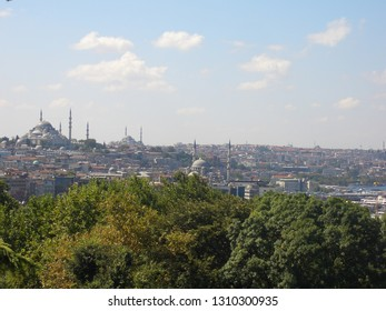 View of Istanbul, Turkey. September 2011