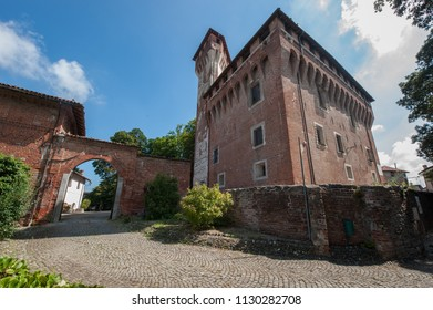 view of an Italian castle