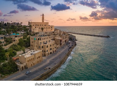 A view of Jaffa Old City Port.