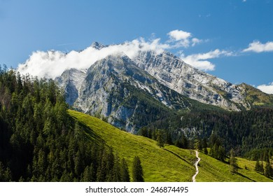 View from Jenner to Berchtesgaden area