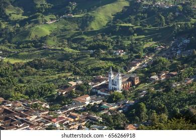View of Jerico; Antioquia