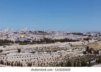 View of Jerusalem, Israel.