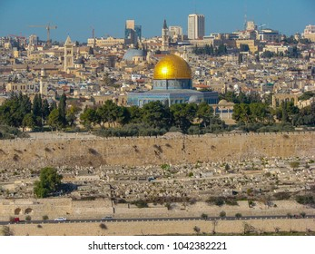 View of Jerusalem from Mount of Olives