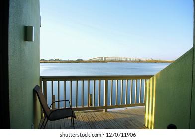 View of JFK Memorial Mausway Bridge from Punta Vista