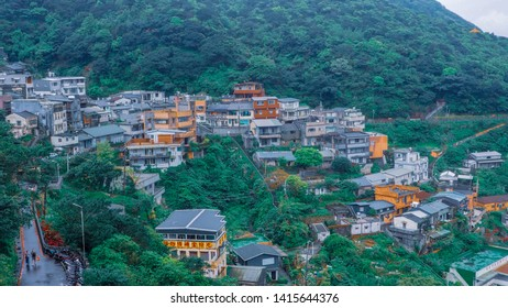 the view of Jiufen Village in Taipei Taiwan 11/04/19,jiufen ,Taiwan
