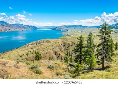 View at the Kamloops lake in British Columbia, Canada