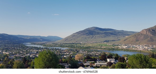 View of Kamloops from the top