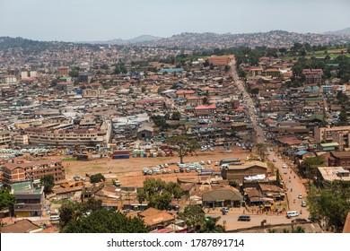 View of Kampala city, Uganda