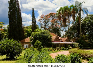 View of Karen Blixen Memorial House in Karen region of Nairobi, Kenya