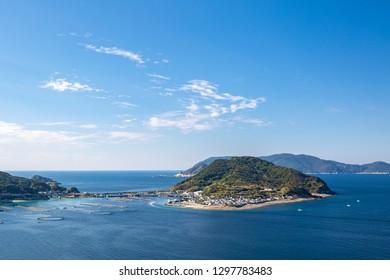 View in Kashiwajima island  Kochi prefecture, japan