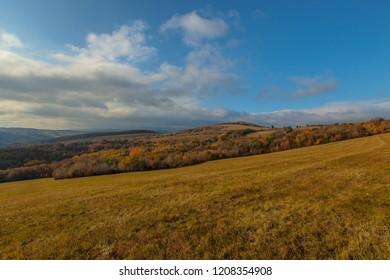 View from Kavecany near Kosice, Slovakia