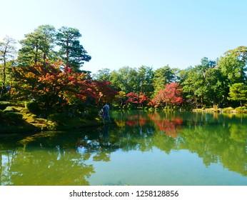 View from Kenroku-en Garden
