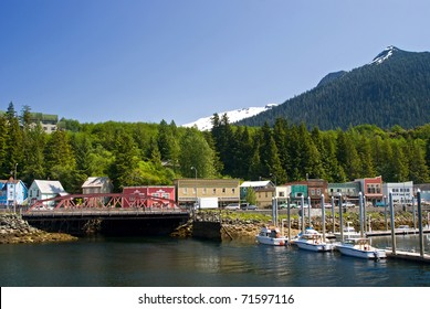 View of Ketchikan Street, Alaska