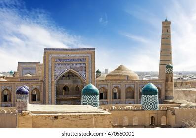 View of Khiva, Uzbekistan