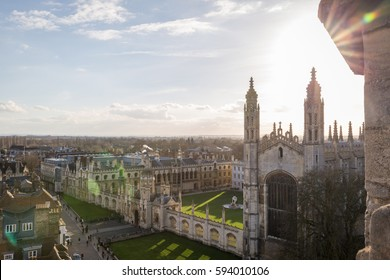 View of King's College, Cambridge