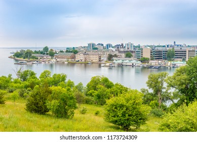 View at the Kingston from Fort Henry Hill, Canada